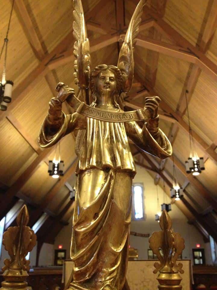 Saint Paul's Lake of the Isles choirmaster podium