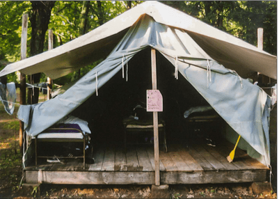 From the Parish Archives: Camping
