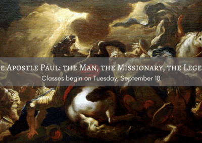 The Apostle Paul: The Man, The Missionary, The Legend