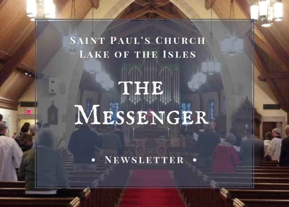 March Messenger 2018
