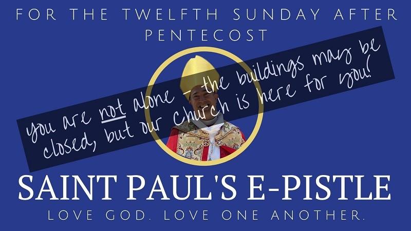Bishop Loya at St Pauls Sunday 9-23