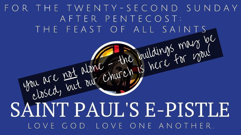 Ninteenth Sunday after Pentecost